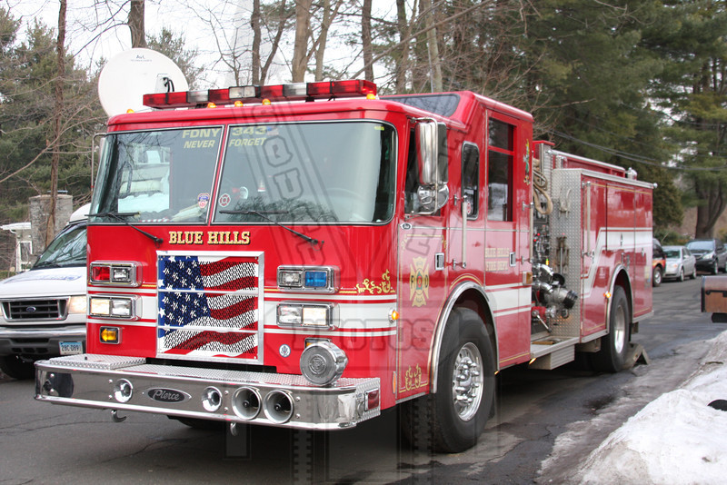 Blue Hills FD ( Bloomfield, Ct ) Engine co. They do not number their engines.