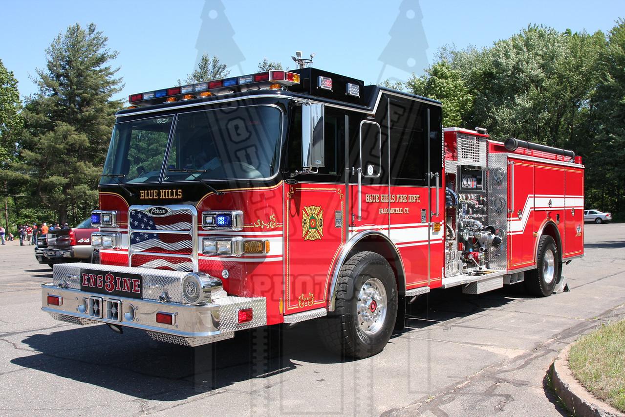 Blue Hills FD (Bloomfield, Ct) Engine 3