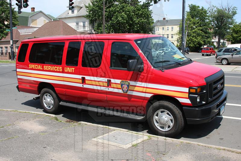 Hartford, Ct Fire Dept. Special Services Unit van.