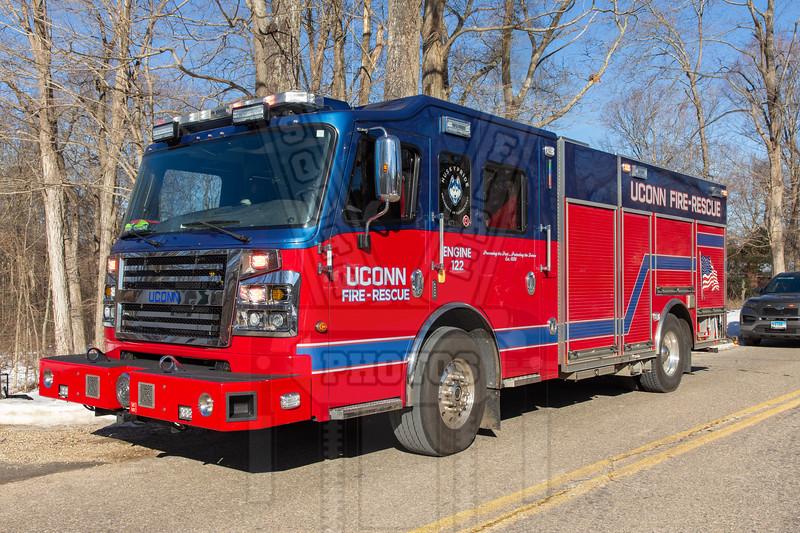 Uconn Engine 122 (University of Connecticut Storrs Campus)