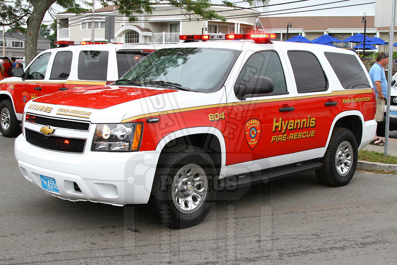 Hyannis, Ma. EMS Supervisor car