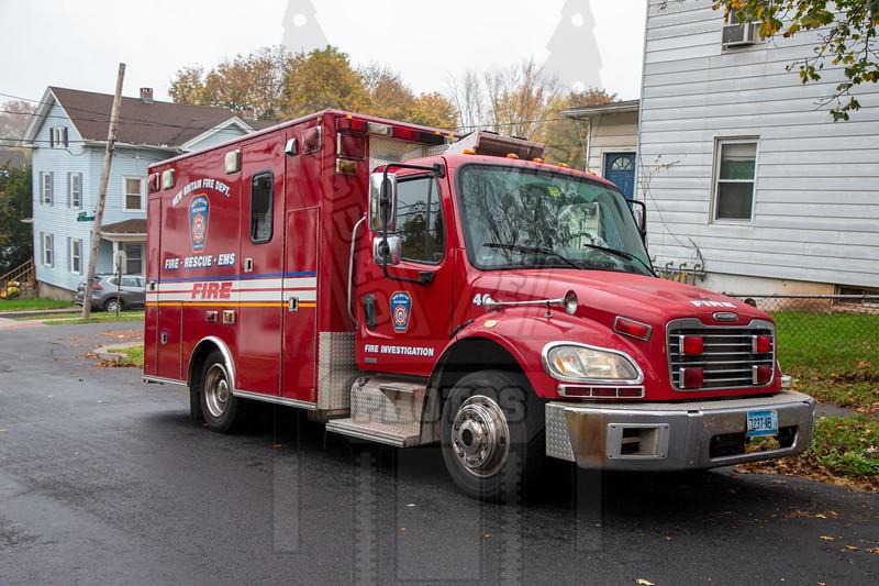 New Britain, Ct Fire Investigation Unit
