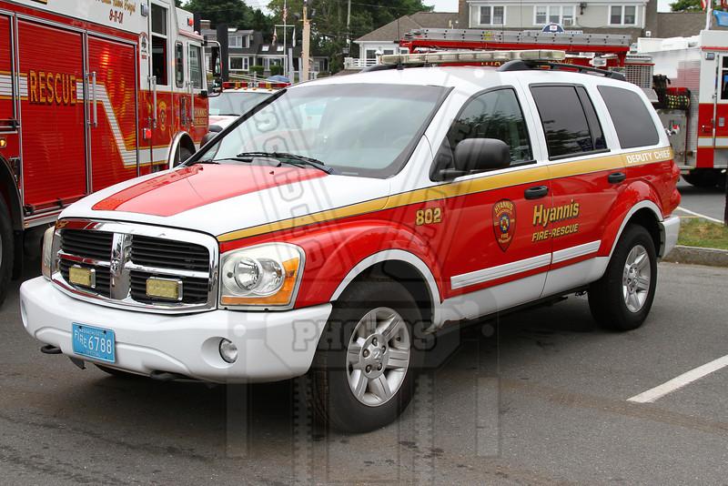 Hyannis, Ma. Car 802 Deputy Chief