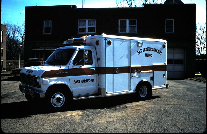 Former East Hartford, Ct Medic 1. Disbanded now due to all engines being ALS.