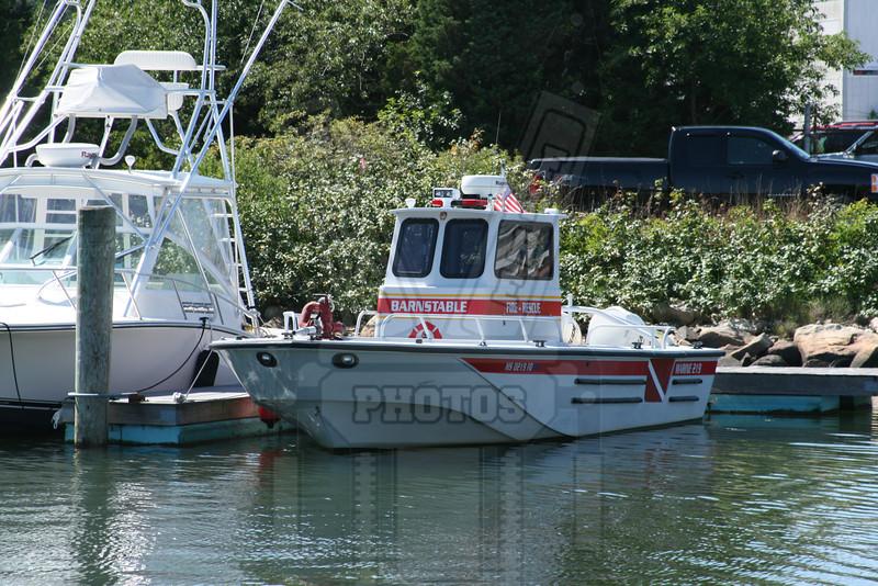 Barnstable, Ma. FD ( Cape Cod) fire boat.