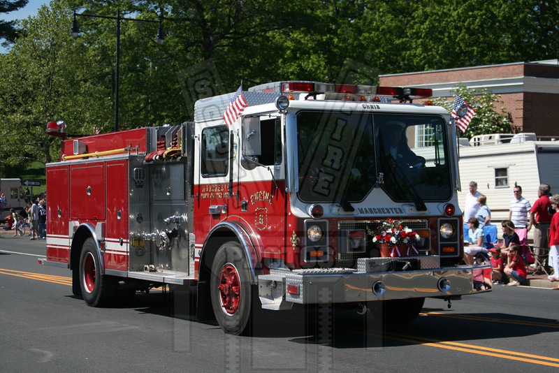Manchester, Ct (8th District FD) Engine 6