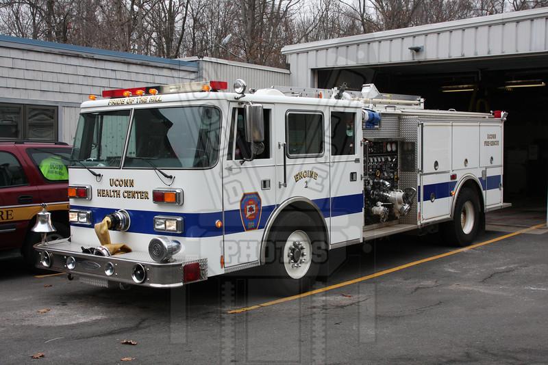 Engine 2 Uconn Health Center FD (Farmington, Ct)