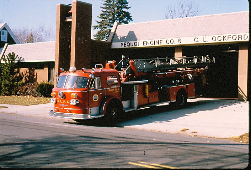 New London, Ct Truck 1. Picture provided by Bill Dennis.
