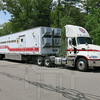 Massachusetts Department of Fire Services Command training trailer