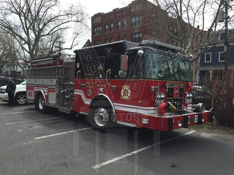 Jersey City, NJ Engine 8