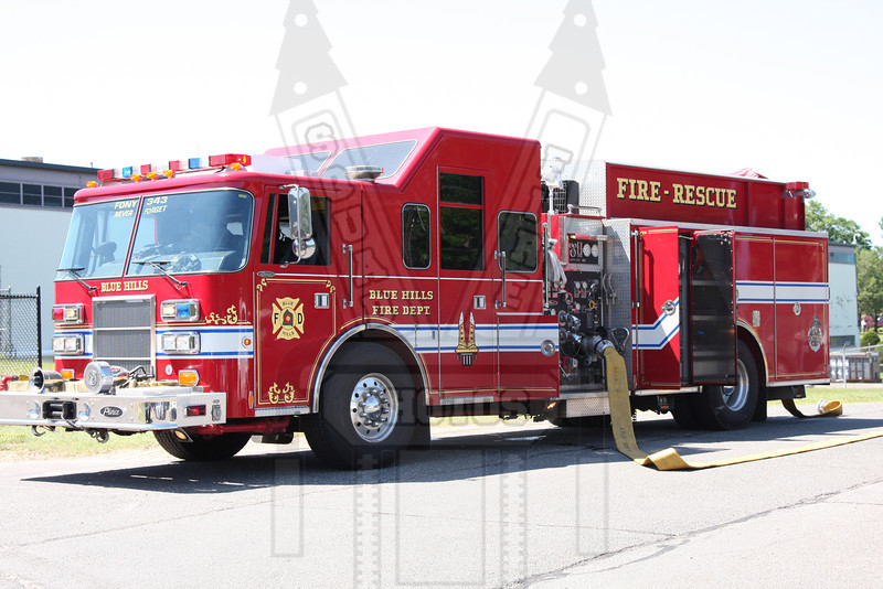 Blue Hills FD (Bloomfield, Ct) Engine co.