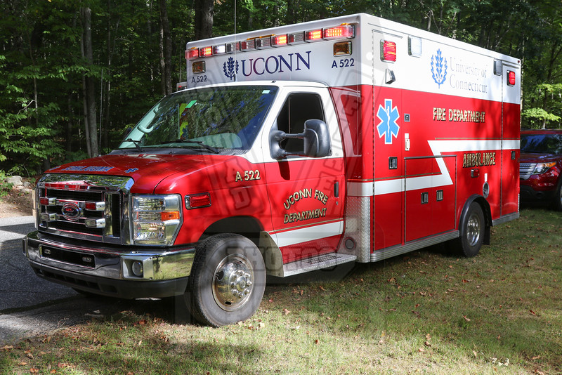 University of Connecticut FD (Storrs, Ct) Ambulance 522