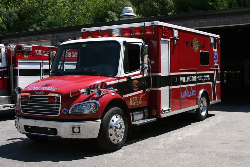 Willington, Ct FD#1 Ambulance 513