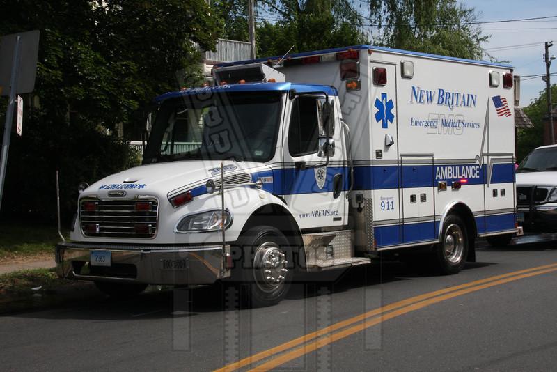 New Britain, Ct EMS ambulance