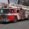 Manchester, CT Fire Rescue EMS Quint 3