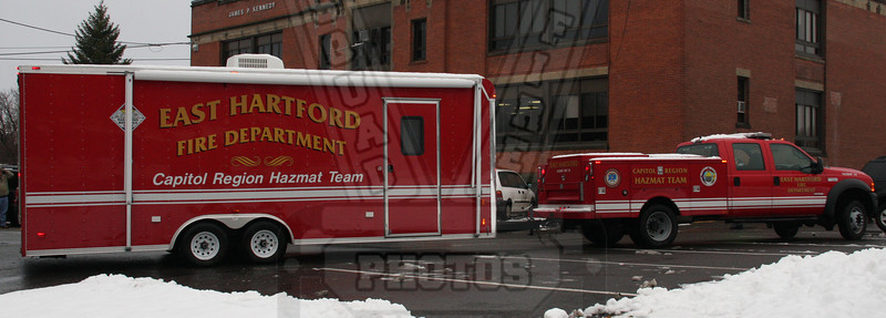 Connecticut Capital region Hazmat truck and trailer that is assigned to East Hartford, Ct Fire Dept.