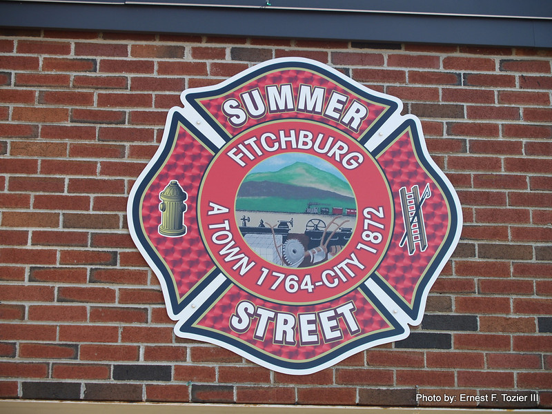 Sign on Fitchburg Station 1
