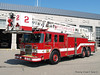 Tower Ladder 2 - 2003 Pierce Dash 85' Rearmount Tower