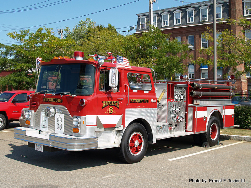 Engine 8 - 1978 Mack CF 1500/1000 (Privately owned by a Fitchburg firefighter)