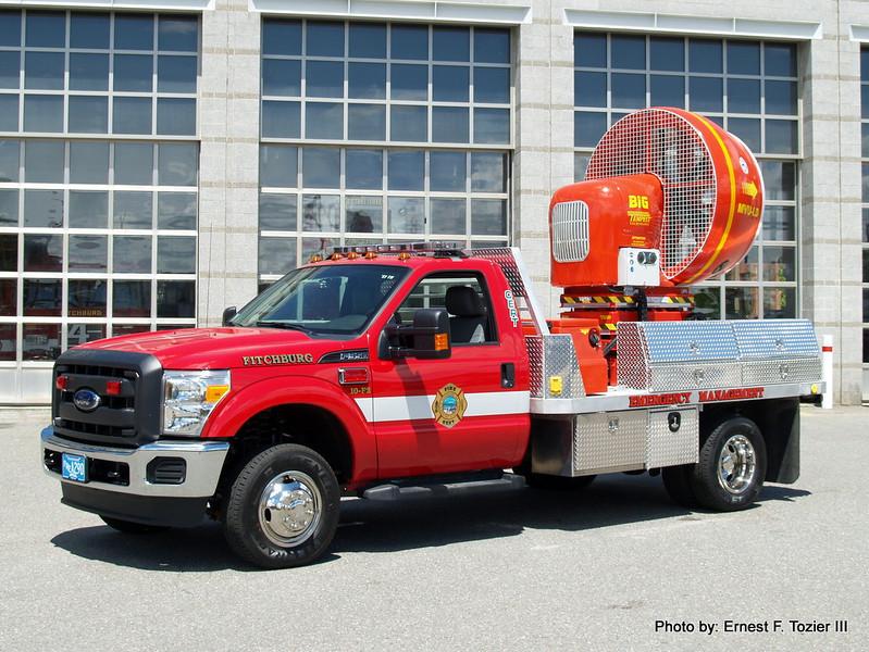 Mobile Ventilation Unit - 2012 Ford F-350/Brigam Industries/Tempest MVU-125
