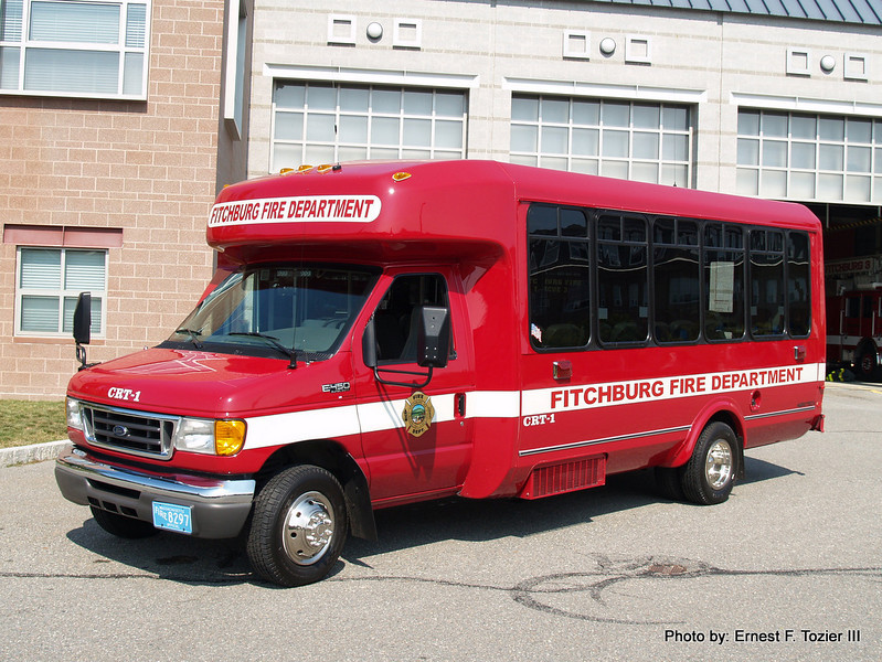 CRT Transport Bus - 2005 Ford E-450 Bus