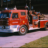 Engine 7. This rig was an open cab assigned to Engine 2 when new. The roofs were added to the apparatus with open cabs by the HFD shops during the riots of the late 60's early 70's