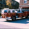 Ladder 4 in front of old quarters.