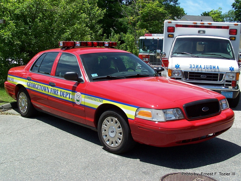 Incident Command - 2004 Ford Crown Victoria