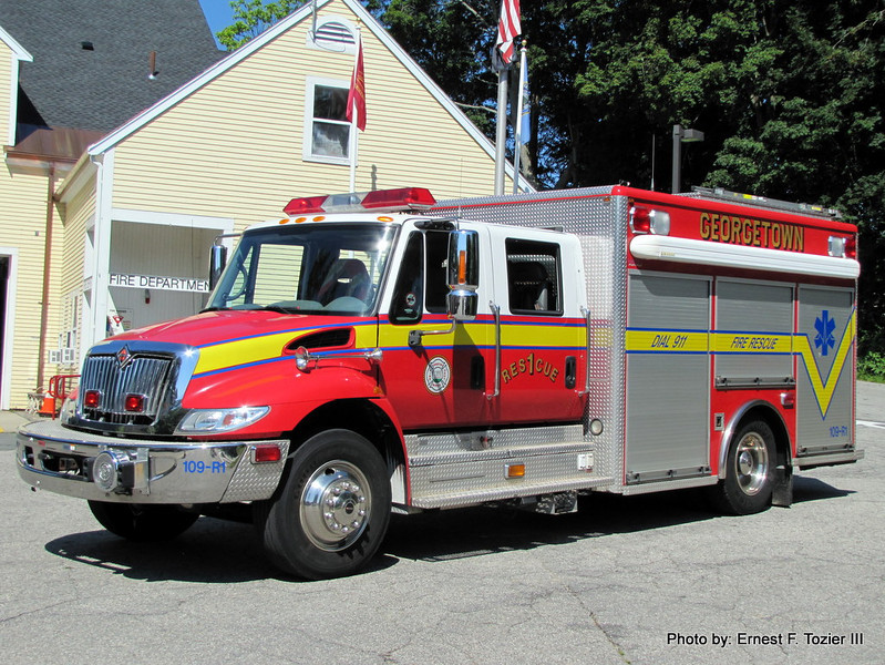 Rescue 1 - 2003 International/Horton