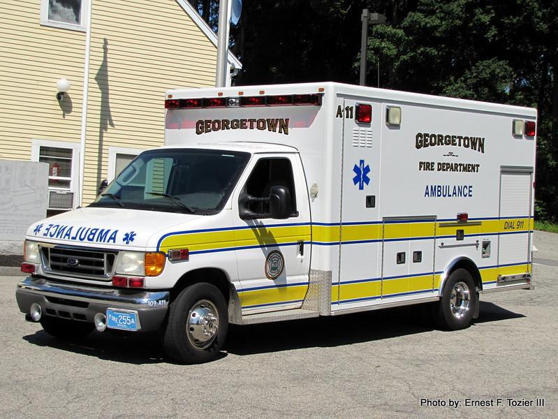 Ambulance 11 - 2005 Ford E-450/AEV