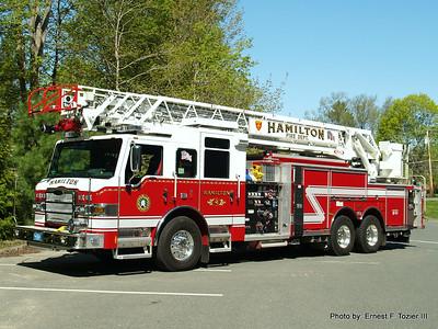 Hamilton, MA Fire Apparatus