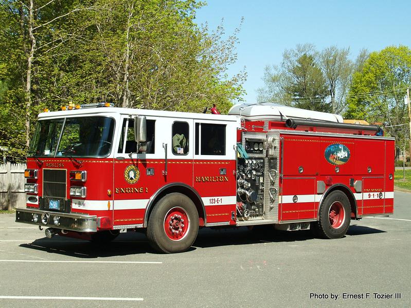 Engine 1 (501) - 1996 Pierce Saber 1250/750 (Photo #2)