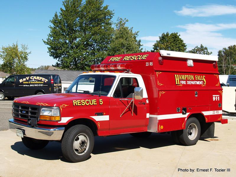 Rescue 5 - 1992 Ford F-350 Utility Body