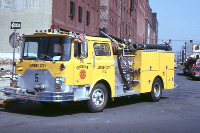 Engine 5 - 1973 Mack CF 1250 gpm/500 tank