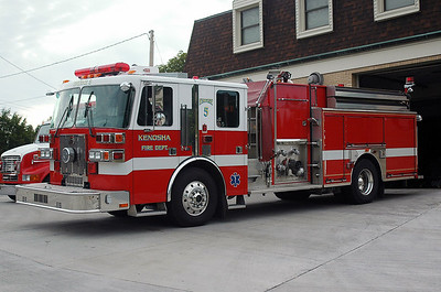 Engine 5 - 2001 Sutphen - 1750/1000/55 (Rebuilt after 2007 accident)