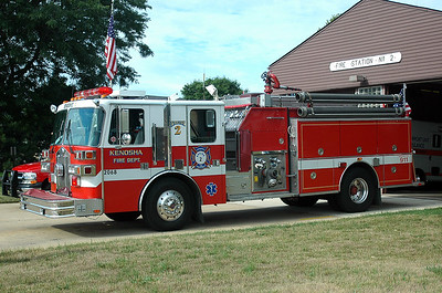 Reserve Engine 55 - 1993 Sutphen - 1500/750/55 (Former Engine 2 & 5)