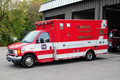 Ambulance 5241 - 2007 Ford/Medtec - BLS/ I-99 - Photo added October 10th, 2014.