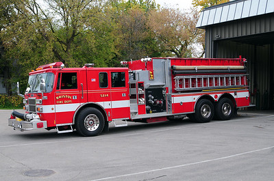 Engine/Tender 5214 - 1993 Pierce Lance - Photo added October 10th, 2014.