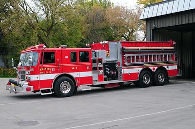 Engine/Tender 5214 - 1993 Pierce Lance - Photo added October 10th, 2014.