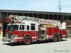 Ladder 1 - 2003 Pierce Dash 2000/500 105' Rearmount Quint