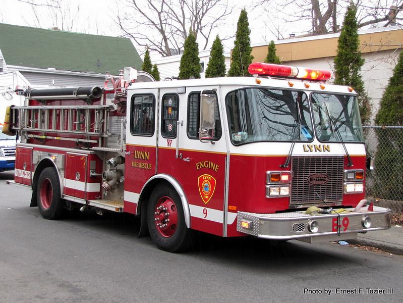 Engine 9 - 2002 E-One Cyclone II 1250/750