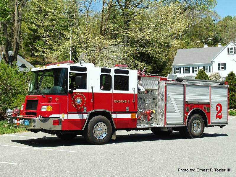 Engine 2 - 1998 Pierce Quantum 1500/500 (Ex-Westland, MI)