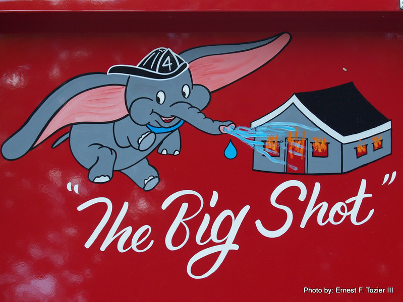 The Dumbo graphic on Engine 4.
