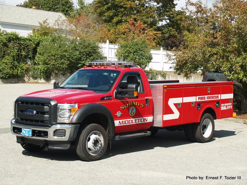 Squad 5 - 2013 Ford F-450 4x4