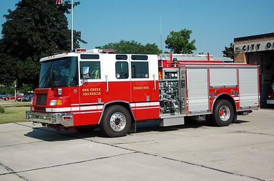 Engine 4 - 1996 Pierce/Quantum - 1250/500 (Former Engine 1865)