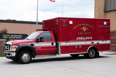 Ambulance 1681 - 2009 Ford/Medtec - BLS Unit - Photograph added September 2nd, 2012.