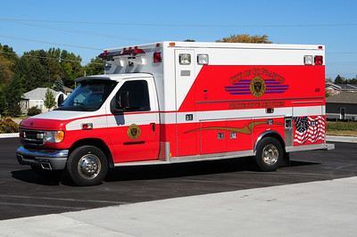 Police/Fire Department Protective Services Unit - 1998 Ford/Medtec - Former Ambulance 1 - Photo Added October 11th, 2014.