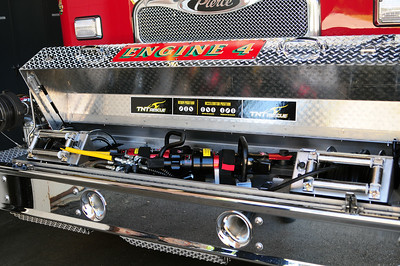 Engine 4 front bumper TNT Extrication Tools