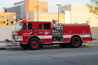 Retired Engine 402 - Pierce - Photo added September 7th, 2012.