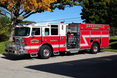 Engine 4 - 2013 Pierce Arrow XT - 1250 GPM / 750 Tank / Foem - Photo added October 10th, 2014  This unit replaced  Engine 402 a 1992 Pierce Lance
